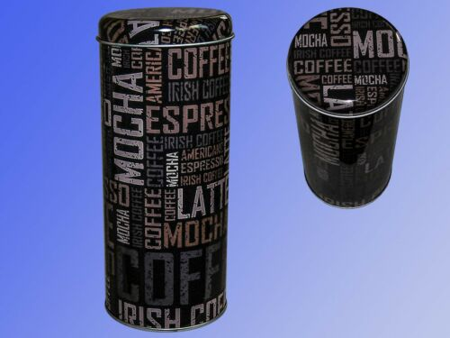 Keksdose Kaffeedose Kaffeepad Dose Blechdose Bonbondose Vorratsdose Teedose