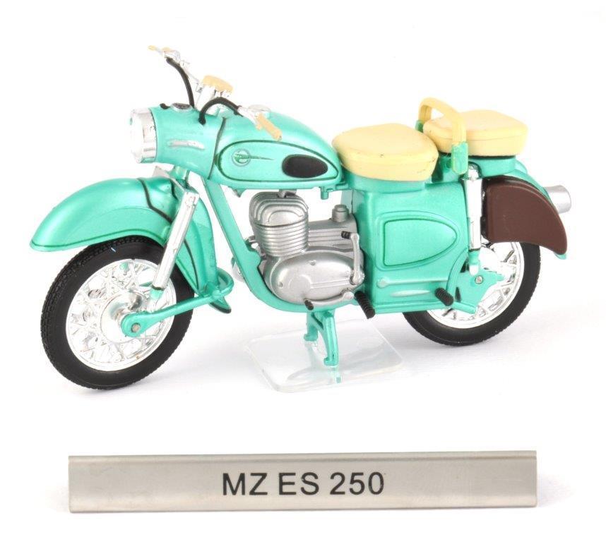 MZ ES 250 Escala 1 24 modelo de motocicleta de Atlas