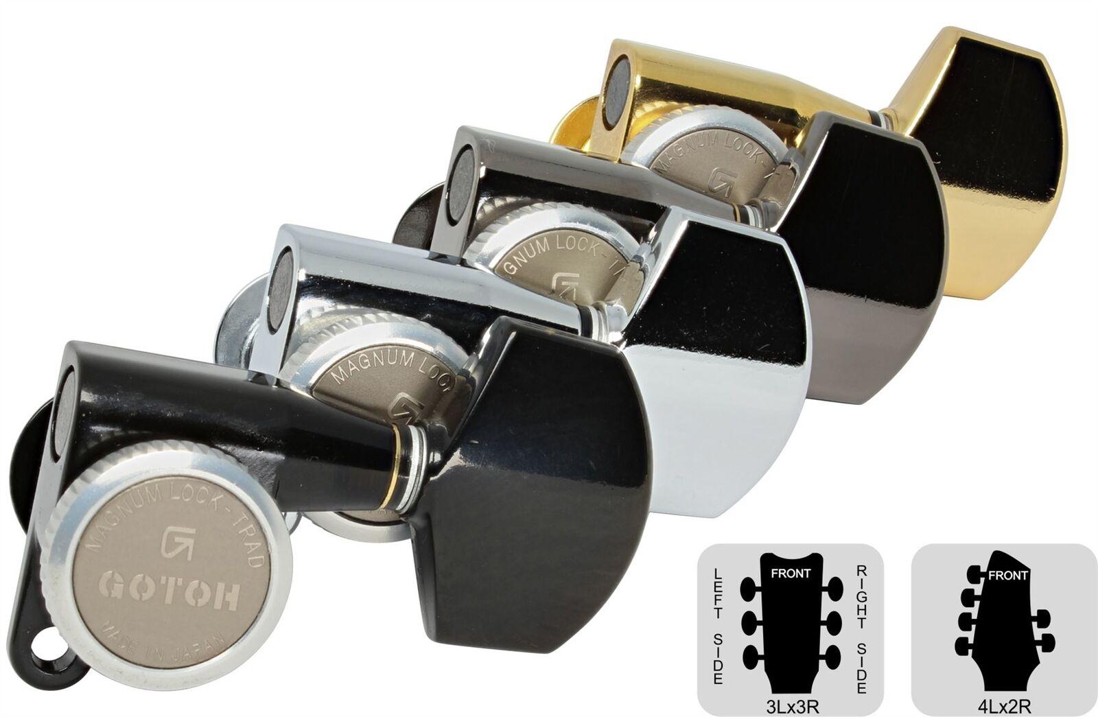Gotoh SG360 MGT bloqueo clavijero con grandes conjuntos de perillas-pre-configuradas perillas-pre-configuradas perillas-pre-configuradas  disfruta ahorrando 30-50% de descuento