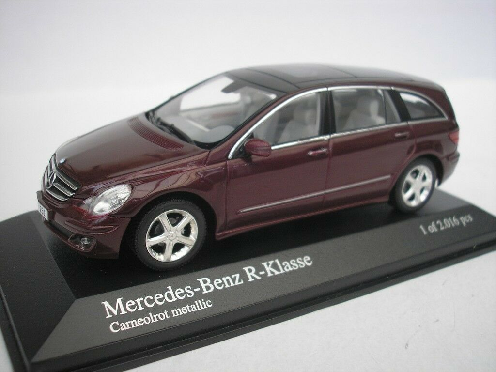 Mercedes Benz R-Class 2006 Carneol Red 1 43 Minichamps 400034600 New