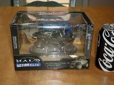 HALO ACTION CLIX - M12 WARTHOG LRV, VEHICLE - BATTLE DAMAGED, Diecast Toy, 1/32