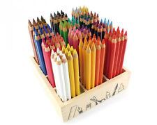 COLORINO 24 dreieckige Buntstifte Farbstifte Malstifte Zeichenstifte