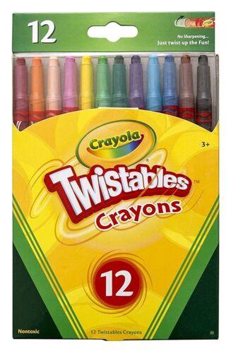 Vivid Imaginations Crayola Twistable Crayons 12 Pack