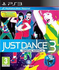 Just Dance 3 - Special Edition (PS3 2011) Includes Bonus Tracks!