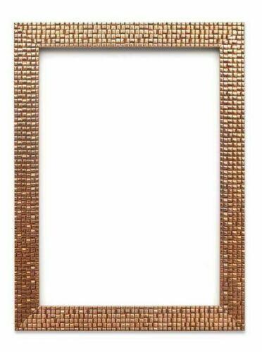 Mosaic Picture Photo Frame A4 A3 Silver, Silver Mirror Frame A4