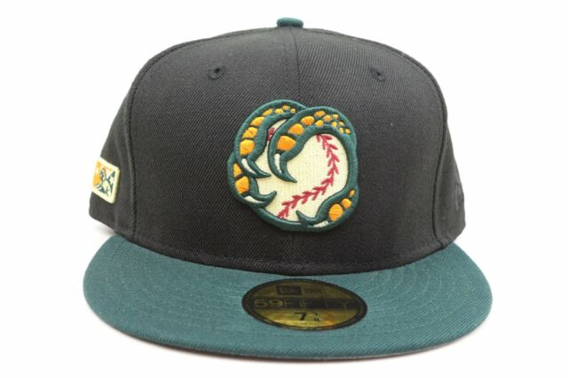 Boise Hawks Black Green Orange White MiLB New Era 59Fifty Fitted Hat