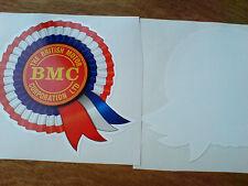 BMC Rosette Classico Retrò Finestrini Auto Adesivo Decalcomania 1 Largo 80mm