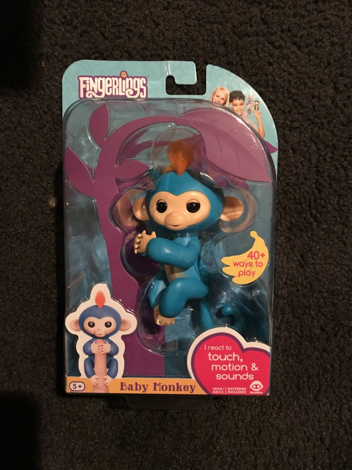 AUTHENTIC WOW WEE FINGERLINGS INTERACTIVE BABY MONKEY BORIS