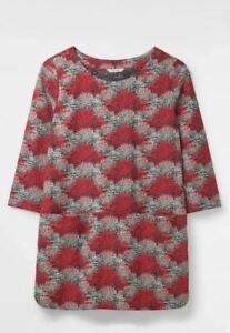 RRP-45-White-Stuff-Ruth-Tunic-Pockets-Top-Jersey-Coral-Pink-print-shirt