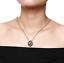 Collane-Coppia-Collana-Uomo-Donna-Acciaio-Argento-Cuore-Spezzato-Incisione-Dedic miniatura 6