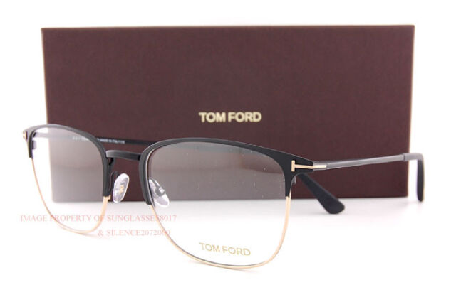 f92cb91f02a Brand New Tom Ford Eyeglass Frames 5453 V 002 Matte Black Men Women Size  54mm