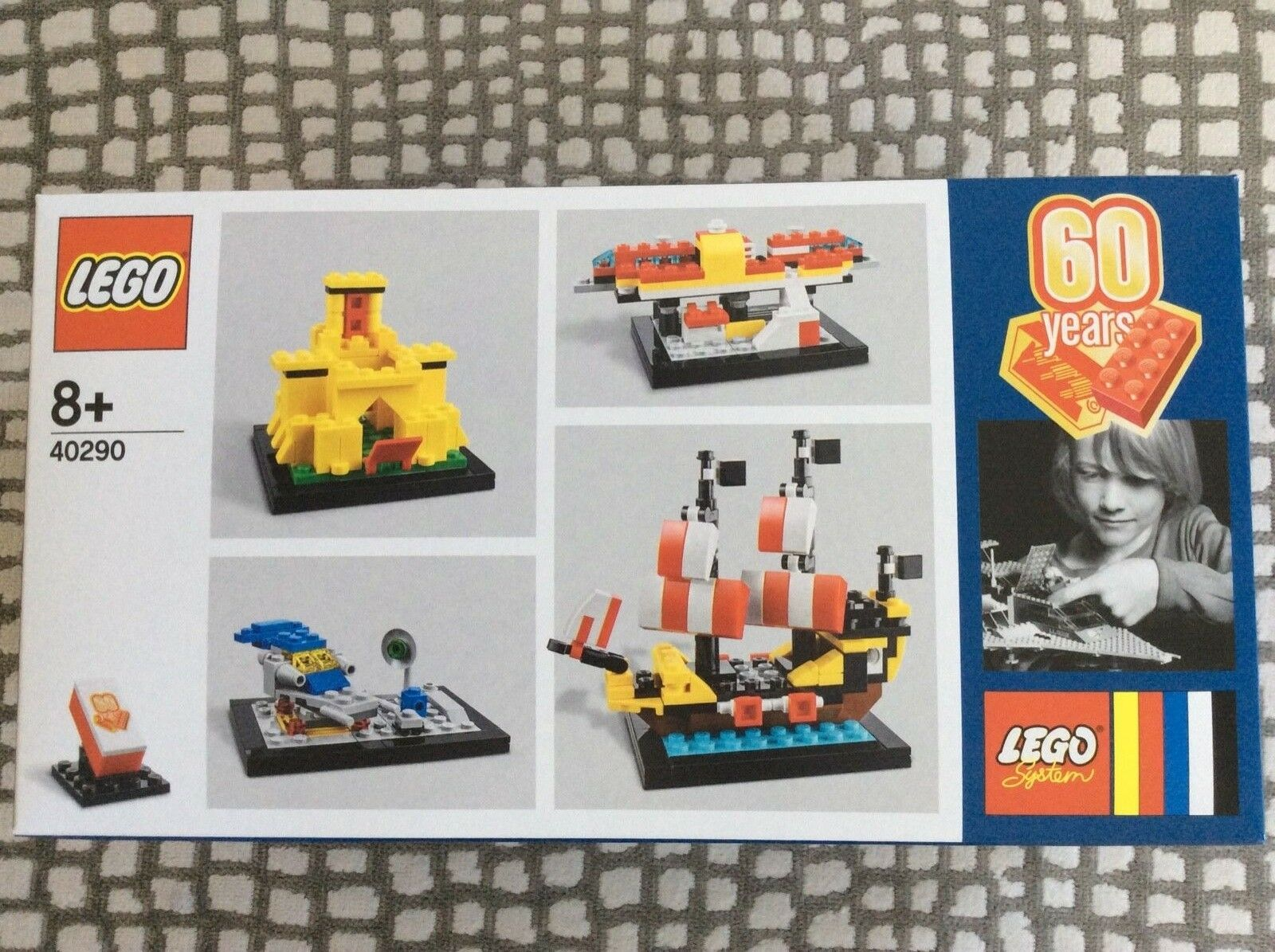 NEUF LEGO 40290  60 ans de la brique (4x Mini-Builds) - LEGO birthday set