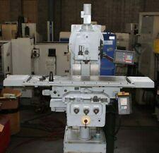 Wmw Heckert Vertical Horizontal Milling Machine Fss400sx1600 Large Knee Mill
