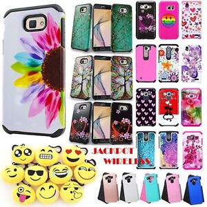 competitive price eebaa aab40 Details about Hybrid Rubber ShockProof Phone Cover for Samsung J5 Prime  Galaxy On5 2016 Case