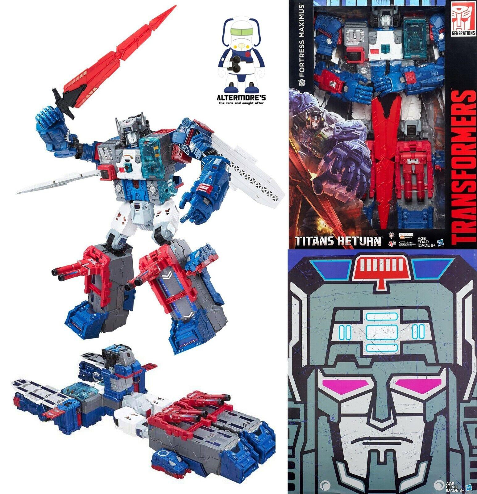 60% de descuento Transformers Hasbro TITAN TITAN TITAN Wars Sdcc 2016 Exclusive Fortress Maximus sin usar y en caja sellada  punto de venta