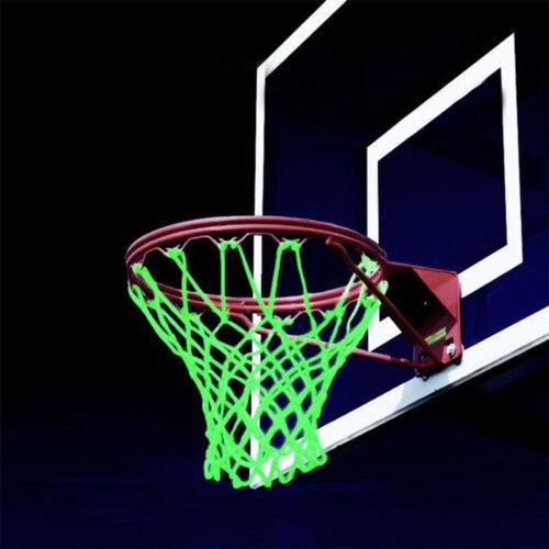 Amazing Glow In The Dark Light Sun Powered Basketball Hoop Net Shoot Traini JKHW