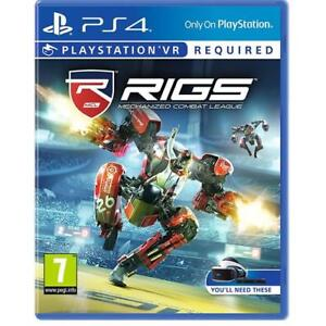 Rigs Mechanized Combat League Ps4 Psvr Playstation 4 Vr Game New