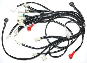Chinese ATV UTV Quad 4 Wheeler Electrics Wiring Harness 50cc 70cc 90cc  110cc | eBayeBay