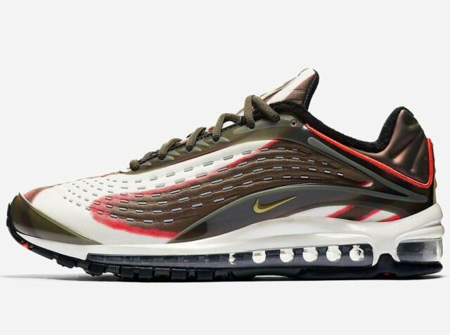 new product 501d8 f4d84 2018 Nike Air Max Deluxe Sequoia Mens Size 10.5 Running Shoes Olive AJ7831- 300