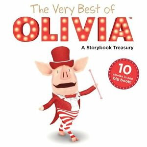 The-Very-Best-of-OLIVIA-A-Storybook-Treasury-Olivia-TV-Tie-in-by-Various
