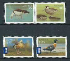 AUSTRALIA 2012 WATER BIRDS SET OF 4 UNMOUNTED MINT,MNH