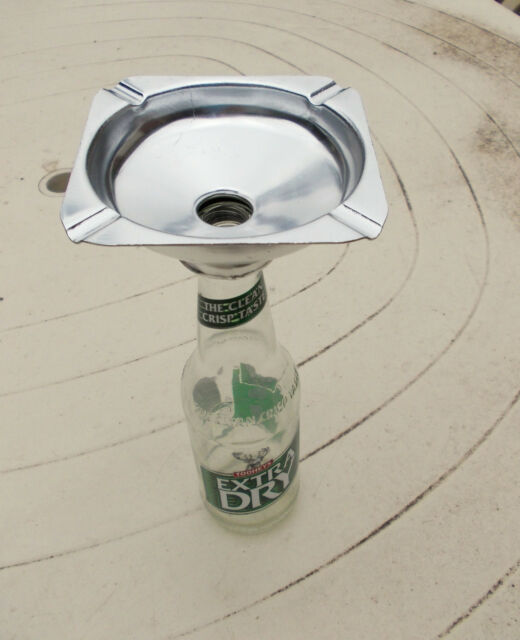 ASHTRAY /ASHTRAP,Bottle Top Ashtray ,gift, practical,