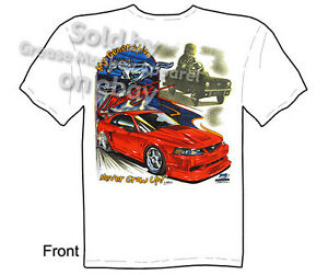 Image Is Loading Mustang Apparel Ford T Shirt Muscle Car Clothing