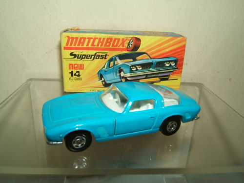 Matchbox superfast modell no.14d  iso grifo  vn mib