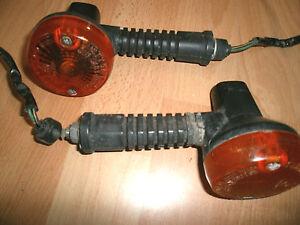links Kawasaki KLX 650 C Blinker PAAR vorne rechts
