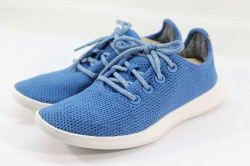 Allbirds Women/'s Tree Runners Kauri Cobalt//White Sole Comfort Shoes NW//OB