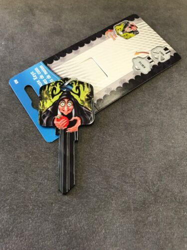 Evil Queen Key Kwikset KW1 House Key Blank Authentic Disney House Keys