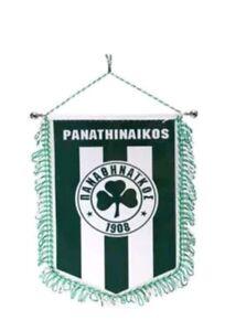 Paok Greece Fanshop Wimpel Griechenland Wappen Fussball