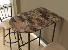 Small Kitchen Table Half Moon Bar Height for Spaces Apartment Size (Table Only)