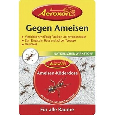 Aeroxon Ameisen Köderbox, Fraßköder, Ameisenköderbox, Ameisengift, Ameisenbox