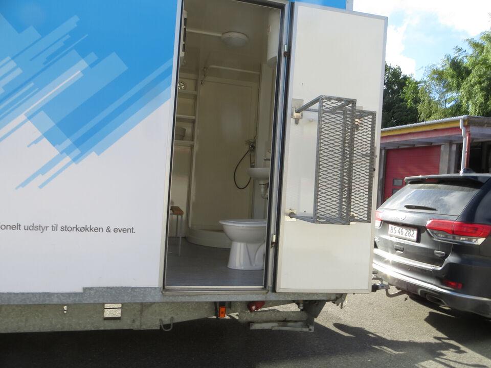 Mobil opvaskevogn med bad og toilet. Pris ex. m...