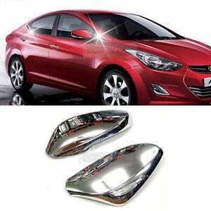 Chrome-Side-Mirror-Cover-Set-LED-Type-For-HYUNDAI-2011-2016-ELANTRA-AVANTE