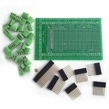 New Prototype Screwterminal Block Shield Board Kit For Arduino Mega 2560 R3