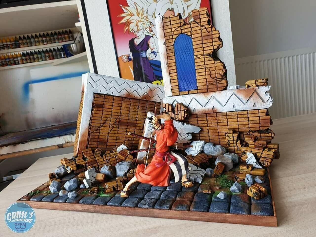 Diorama One Piece + Figurine Kinemon Fourni