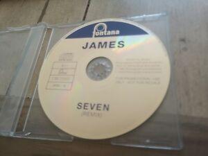 James-Seven-Label-Fontana-Records-JICDJ-12-Promo-UK-CD-Single