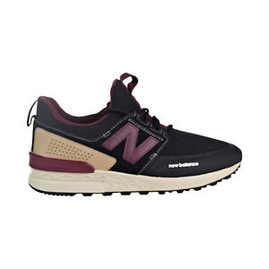 1e5c4e505f New Balance 574 Sport Decon Men s Shoes Black Burgundy MS574-DTY