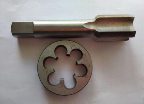 1pc HSS Machine M27 X 1mm Plug Tap and 1pc M27 X 1mm Die Threading Tool