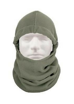 BALACLAVA LIGHTWEIGHT EXTRA LONG Outdoor Winter POLAR FLEECE Kopfhaube Foliage