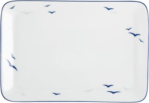 Königlich Tettau Worpswede Rügen Rahmtablett rechteckig 18x12,5 cm 04164