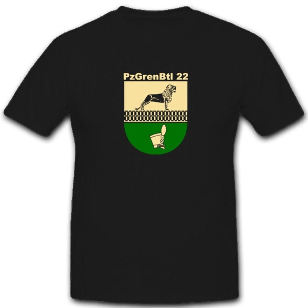 Pzgrenbtl 22 Panzergrenadierbataillon 22 Militär Bundeswehr - T Shirt  4941 | Sale  | Großer Verkauf  | Rich-pünktliche Lieferung