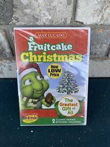 Hermie & Friends A Fruitcake Christmas DVD New Sealed Max Lucado