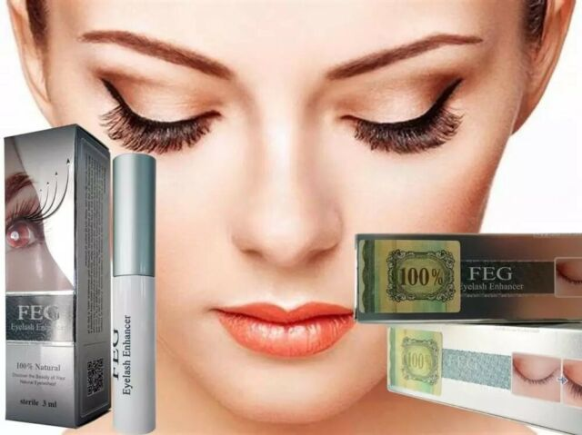 💙FEG Original Rapid Growth Serum 3ml EyeLash Enhancer Brush Liquid EyeLash Oil