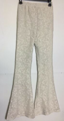 Chaser Lace Bell Bottoms salt Women/'s Casual Pants Size S L BCH1