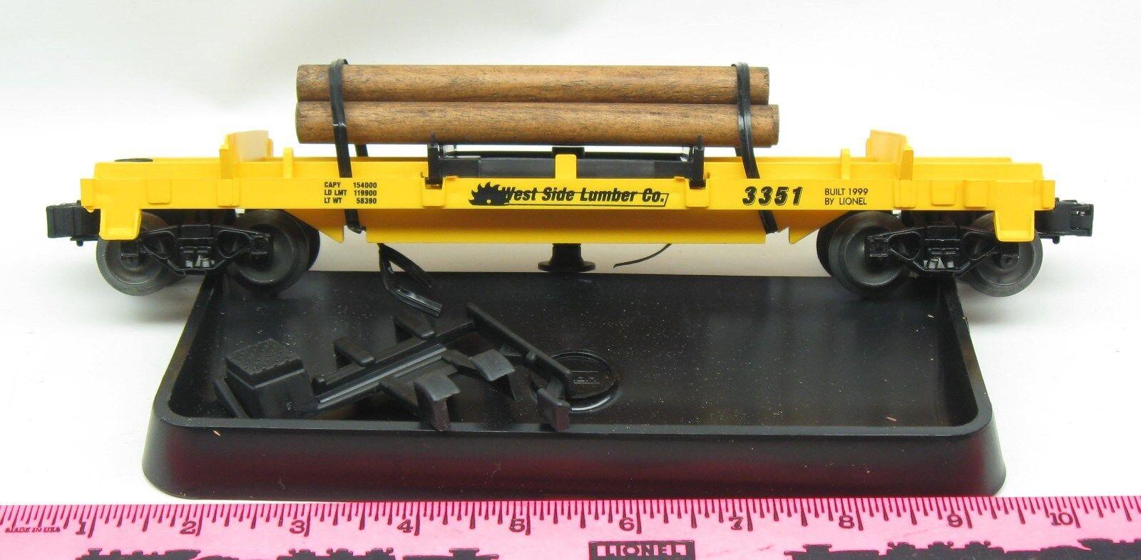 Lionel neue 3351 west side holz co log - dump auto