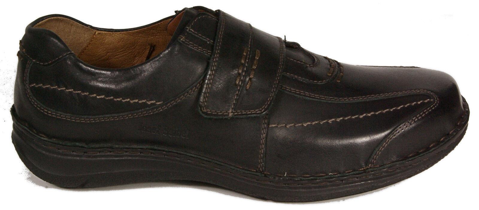 Josef Seibel lejos Zapatillas negro cuero auténtico cambio plantilla extra lejos Seibel K nuevo 871d4e